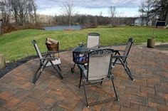 Waterfront property on the Oswego River in Central New York