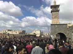 الائتلاف الوطني السوري ينعى والدة حسام عياش أول شهيد في الثورة السورية