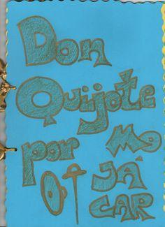"""Don Quijote por Mojácar Santi 2º A  """"Don Quijote por Mojácar""""  Realizado por Santi, 2º A del CEIP Bartolomé Flores (Mojácar) Curso 2015-2016"""