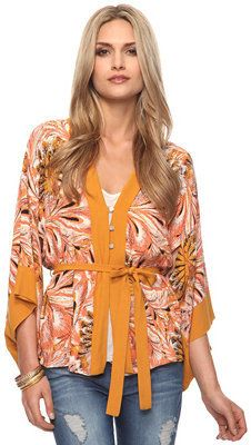 not sure about the colours/pattern but i love the cut of this kimono cardigan