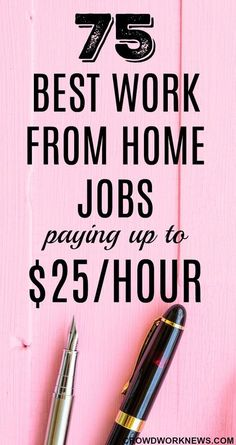Finding work from home jobs which pay well can take a lot of time. Don't worry, I have done that for you. Today I have a big list of 75 work. Home Based Jobs, Work From Home Companies, Online Jobs From Home, Work From Home Opportunities, Work At Home Jobs, Online Budget, Career Options, Online Work, Business Opportunities