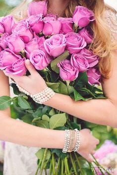 Pink roses ... gabytaangeles