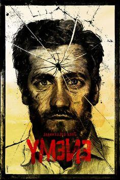 Enemy ~ Alternative Movie Poster by Daniel Norris Minimal Movie Posters, Minimal Poster, Cool Posters, Film Posters, Disney Gender Bender, Denis Villeneuve, Fan Poster, Movies Worth Watching, We Movie