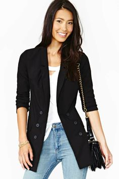 All Night Long Blazer- love blazers with jeans