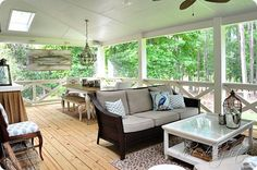 Southern Charm screened in porch - Google Search