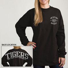 Fort Hays State University Tigers Women's Ra Ra Long Sleeve T-Shirt | Fort Hays State University
