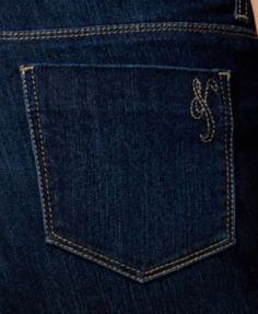 Style & Co Curvy-Fit Cuffed Boyfriend Jeans, Only at Macy's - Blue 8