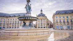 La place de la Bourse en plein coeur de la ville de Bordeaux