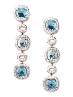 Channel the leisurely jet-set vibe of St. Tropez with these alluring earrings.