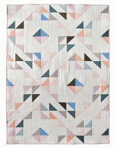 Indian Summer Quilt Kit Featuring New Mod Basics Solids
