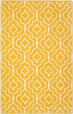Safavieh Cambridge CAM141Q Gold / Ivory Rug