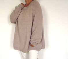 Bow Back Sweater.