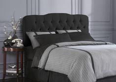 A sharp black bedroom set.