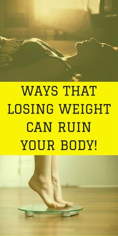 Almost every article devoted to losing weight pays attention to the benefits of it. Rarely when you hear or read about the negative things that can weight loss can … #weightloss