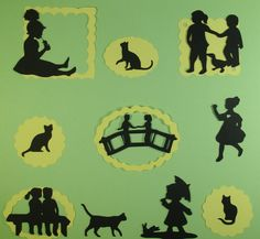 GIRLS  PAGE LAYOUT   e-33 scrapbooking cricut diecuts DISNEY premade pages