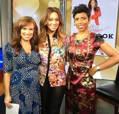 Missing @Laura Hunter! Can't wait to see her again tomorrow to talk about her new movie #Thinklikeaman!