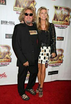 Sammy Hagar and wife, Kari Sammy Hagar, Van Halen, Mr Mrs, Zine, Hard Rock, Rock N Roll, Heavy Metal, Musicians, Pictures