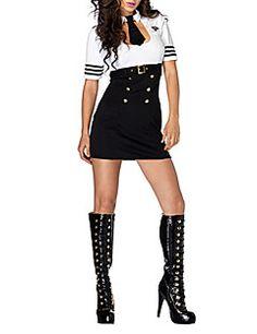 Mulher sensual sexy oficial da SWAT Vestido Polícia Halloween Costume (2pieces)