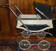 Vintage Doll Carriage Welsh Baby Carriage Prop by TheTreasuredBarn, $75.00