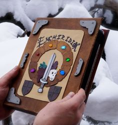 The Adventure Time iPad cover is exactly what you need to augment the iPad's power. This handmade leather-bound cover is sturdy on the exterior and lined with...
