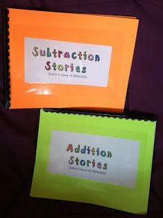 Tales From a K-1 Classroom: Addition and Subtraction Number Stories