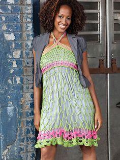 Webby Sundress or Skirt, de Erika and Monika Simmons. http://www.ravelry.com/patterns/library/webby-sundress-or-skirt