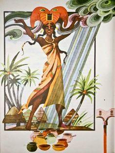 Val Munteanu - Din basmele Africii illustrations Folk Art, Illustrations, Inspiration, Biblical Inspiration, Popular Art, Illustration, Inspirational, Inhalation, Illustrators