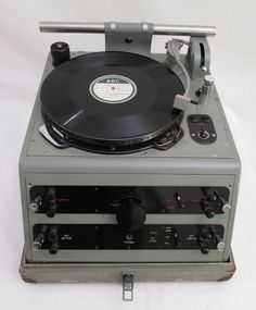 Late 1930's BBC Gramdeck / Turntable / Record player For OB's / Outside Broadcasts | by cinephonics