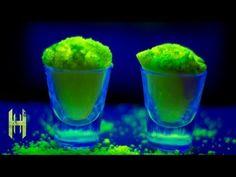 Amazing Glow Powder - Fluorescein - YouTube