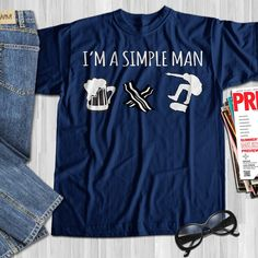 I Love Skateboarding Skateboard Shirts, Skateboard Pictures, Simple Man, Skateboarding, Gifts For Family, Shirts For Girls, Bacon, Tee Shirts, Beer
