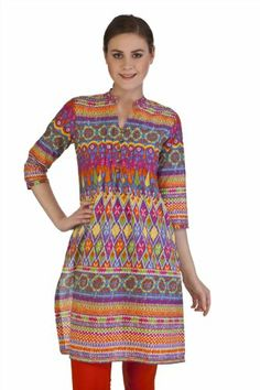 $33.99 MB Indian Womens Ethnic Printed Kurta Tunic #Clothes