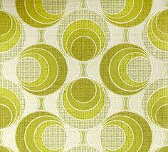 Retro Tapet Cirkler med Struktur Design Textile, Textile Patterns, Print Patterns, Textiles, Scandinavian Wallpaper, Scandinavian Design, Retro Tapet, Retro Pattern, Surface Pattern Design