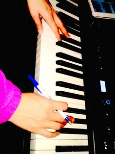 Keri Working on a melody