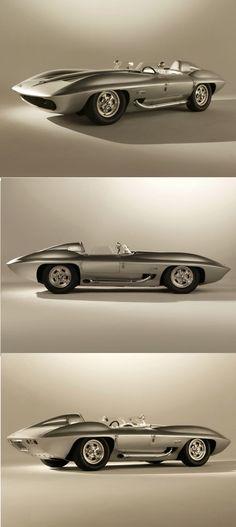 Chevrolet Corvette Stingray Racer Concept Car 1959