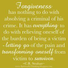 forgiveness.
