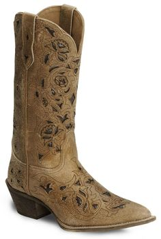 Laredo Crazyhorse Cutout Cowgirl Boot - Pointed Toe available at #Sheplers
