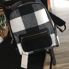 Brand New Plaid Backpack by Adam Lippes for Target Awesome plaid backpack from Target, Brand New with Tags. Adam Lippes for Target Bags Backpacks