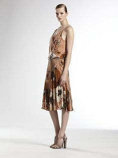 Gucci - Silk Floral Dress - Saks.com