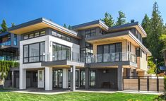 What Classifies A House Style: What Makes A Contemporary Home? House styles Modern architecture house House architecture design