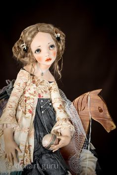 Baby. Art doll by Alisa Filippova | Doll Art Guru