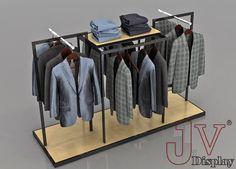 custom made apparel display racks