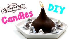DIY Candles: How To Make Hershey Kiss Candles - Easy Room Decor & Craft ...