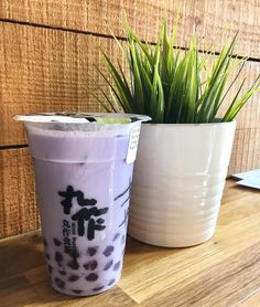 #Repost @brendaatethis Taro Milk Tea with Taro Tapioca  --- Did you know that @onezotapioca makes their own tapioca?? I actually stopped eating tapioca a lot time ago because I got tired of it but this place makes me enjoy them again. Their tapioca is suuuuper chewy just the way I like it  their taro is my favorite so far and it's so addicting! --- #onezotapioca #toronto #chinatown #taro #tapioca #bubbletea #drink #food