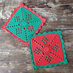 "Victorian lattice 8"" sq for a potholder Tutorial •✿• Teresa Restegui http://www.pinterest.com/teretegui/ •✿•"