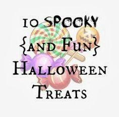 10 Spooky {and Fun} Halloween Treats. #halloween #treats #recipes