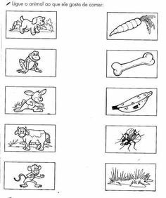 In This Early Writing Worksheet Animal Worksheets, Printable Preschool Worksheets, Worksheets For Kids, Kindergarten Worksheets, Preschool Writing, Preschool Learning Activities, Infant Activities, Teaching The Alphabet, Childhood Education