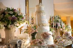 Apaixonada pela nossa mesa do bolo! Patricia Garcia Decoracoes