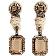 Lanvin earrings. absolutely beautiful