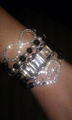 """Dancing in the Dark"" for more details and pics add Michelle's Bracelet Stacks on Facebook"
