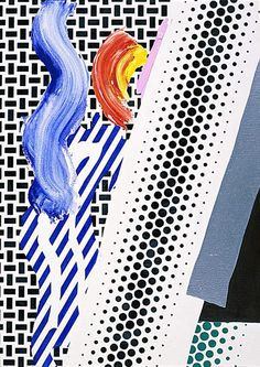 Roy Lichtenstein - Untitled Reflection (1989)